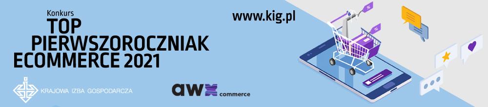 Konkurs TOP Pierwszoroczniak e-commerce 2021